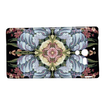 Floral1a Sony Xperia ZL L35H Hardshell Case