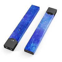 Skin Decal Kit for the Pax JUUL - Blue 275 Absorbed Watercolor Texture