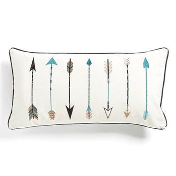Levtex 'Sierra Arrows' Pillow - White