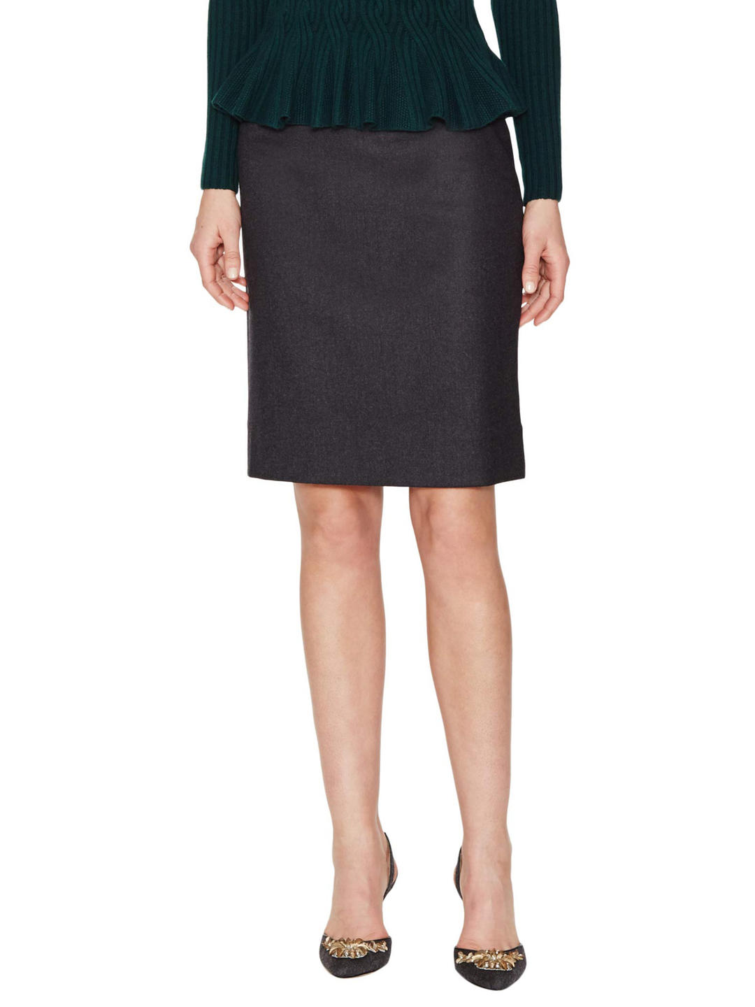 fitted pencil skirt from gilt
