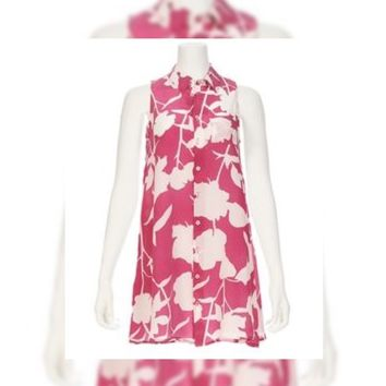 Ron Herman Exclusive Floral Shirt Dress