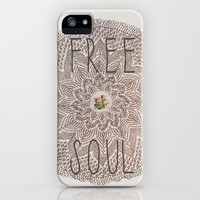 Free Soul iPhone Case by Lilikoi | Society6
