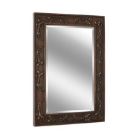 Classic Scroll Bronze Wall Mirror (1045) - Illuminada