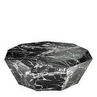 Black Polished Diamond Coffee Table | Eichholtz Diamond