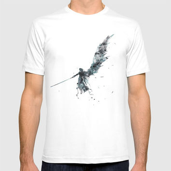 Final Fantasy Watercolor T-shirt by monnprint