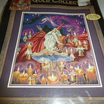Dimensions Gold Collection Scarlet Wizard Counted Cross Stitch Kit Designed By Myles Pinkney 2004