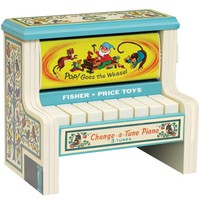 Fisher Price Change-A-Tune Piano - 1950's Classic Toys