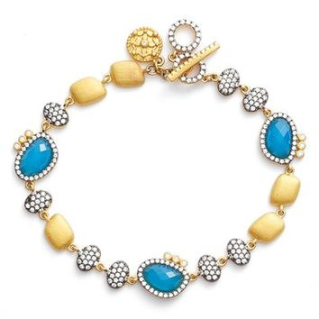 FREIDA ROTHMAN Baroque Blues Toggle Bracelet | Nordstrom