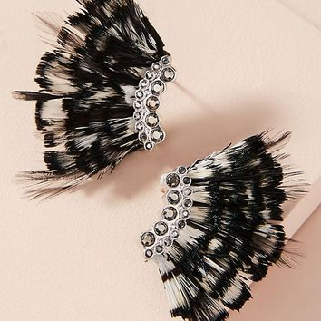 Madeline Petite Feather Earrings