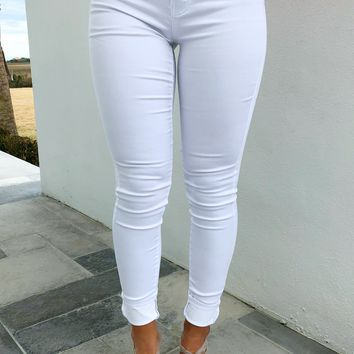 Breath Of Fresh Air Jeans: White