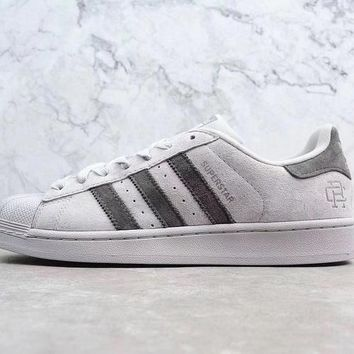 Adidas x Reigning Champ  Supertar 3M Sneaker