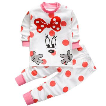 Pullover Baby Clothing sets of clothes for girls and boys T-shirts jacket children's Pyjamas for baby girls boutique clothing 1T