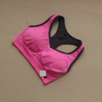 Professional Running Shock Sports Underwear Bras Fitness Underwear Without Steel Ring Yoga Vest B0015314