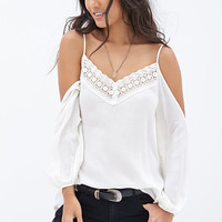 Off-The-Shoulder Crochet Top