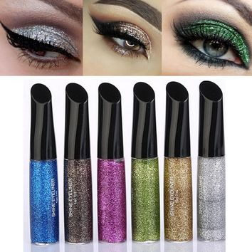 Shining Liquid Glitter Eyeshadows