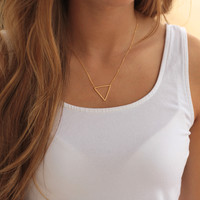 The Bermuda Necklace (gold)