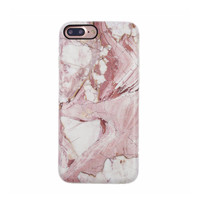 Marble Case for iPhone 8 Plus / 7 Plus - Rose