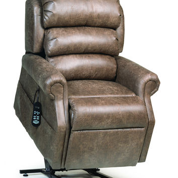 Ultracomfort Power Lift Chair Full Lay Out UC-550 - Fabric Upgrade - Free Shipping