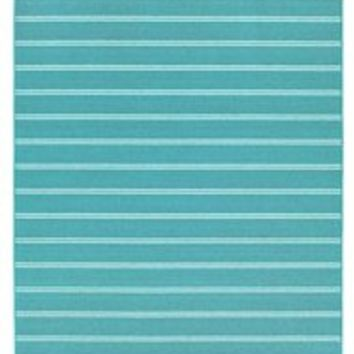 Classic Stripes College Rug   Teal Decorations For Dorm Room Cheap Rugs  College Area Rugs Dorm