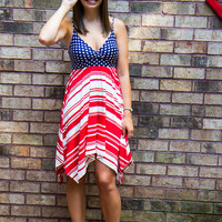 God Bless the USA Dress - Final Sale
