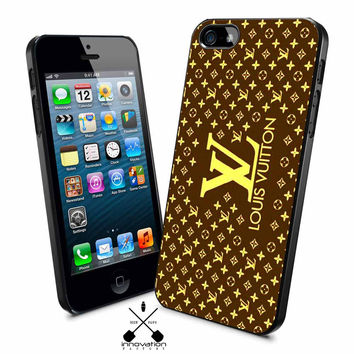 brown louis vuitton iPhone 4s iphone 5 iphone 5s iphone 6 case, Samsung s3 samsung s4 samsung s5 note 3 note 4 case, iPod 4 5 Case