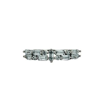 The Brit, A Perfect 3.7TCW Baguette Russian Lab Diamond Ring
