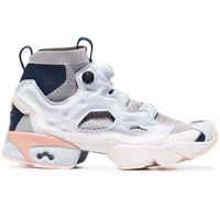 Instapump Fury Grey Ultraknit Sneakers by Reebok