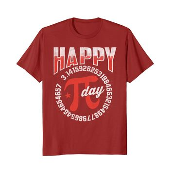 Pi Day 2018 Shirt Happy Pi Day Funny Math Geeks Gift