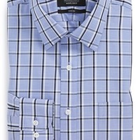 Men's Nordstrom Trim Fit Non-Iron Plaid Dress Shirt (Online Only)