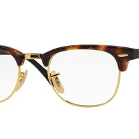Ray-Ban RX5154 5494 51mm Brown Havana Eyeglasses