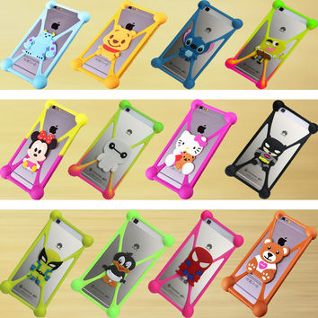 Silicone Universal Cell Phone Holster Cases