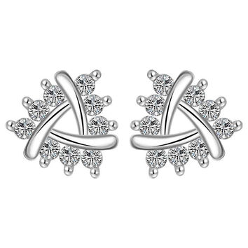 online shopping india silver-plated earings jewelry insets No Rules stud brinco prices in euros MP