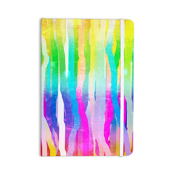 "Frederic Levy-Hadida ""Jungle Stripes Pastel"" Multicolor Painting Everything Notebook"