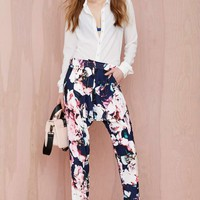 Finders Keepers Illuminati Floral Trousers