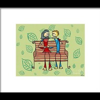 Life And Living Framed Print