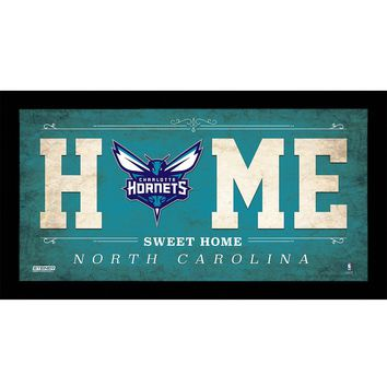 Charlotte Hornets 10x20 Home Sweet Home Sign