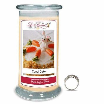 Carrot Cake Jewelry Candles