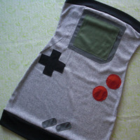 handheld game dress by SewOeno on Etsy