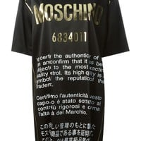 Moschino 'Authentic' T-shirt dress