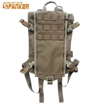 Water Bottle Pouch Hydration Backpack Military Army Multi-Mission Survival.