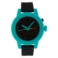 Nixon Women's A287-060 Polyurethane Analog with Black Dial Watch