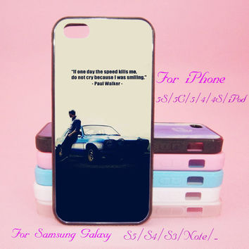 Paul Walker,iPod Touch 5,iPad 2/3/4,iPad mini,iPad Air,iPhone 5s/ 5c / 5 /4S/4 , Galaxy S3/S4/S5/S3 mini/S4 mini/S4 active/Note