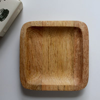 Acacia Wood Soap Dish
