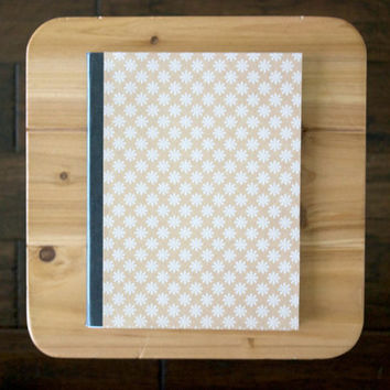 Daisy Flower Composition Notebook // Pick Your own Stamp