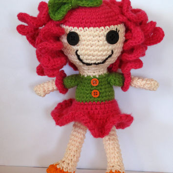 PDF Pattern Lalaloopsy Inspired Crocheted Doll