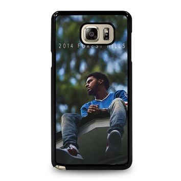 J. COLE FOREST HILLS Samsung Galaxy Note 5 Case Cover