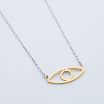 Eye necklace