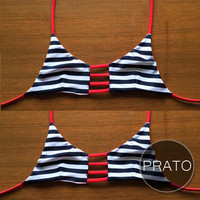 PRATO - Handmade Triangle Strap Top