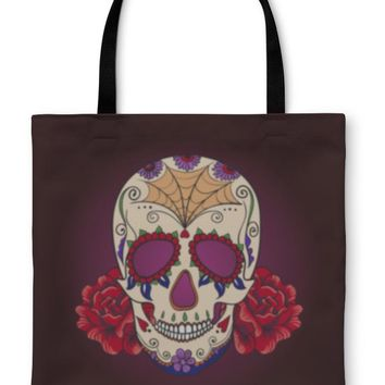 Tote Bag, Sugar Skull