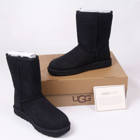 BRAND NEW Women's Shoes UGG Classic W Black Boots Size 10 With Box!